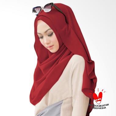 Milyarda Hijab Belle Pashmina Instant - Maroon
