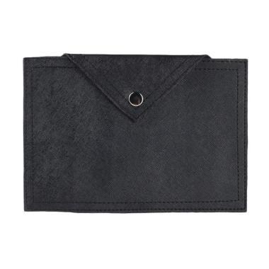 Louvre Paris BL-003-06 Trice Clutch Bag - Black