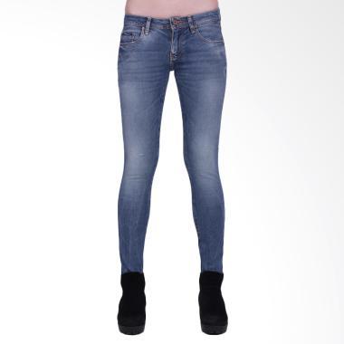 Mandalay Premium R40 Skinny Celana Wanita - Dark Blue