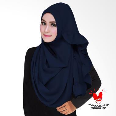 Milyarda Hijab Sarah Kerudung Instant - Navy