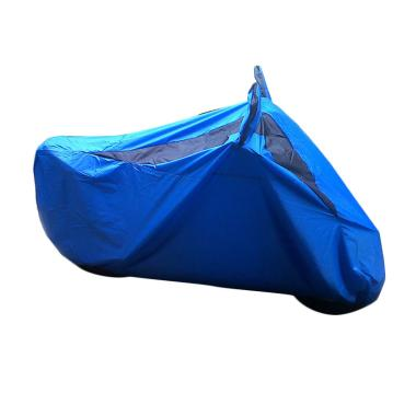 MR82 Anti Air Dan Debu Cover Motor Bebek/ Vario/ Vespa - Biru