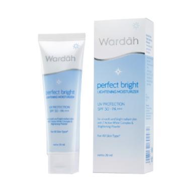 wardah_wardah-perfect-bright-lightening-moisturizer--20ml_full02 Koleksi List Harga Pelembab Cream Wardah Terbaru waktu ini