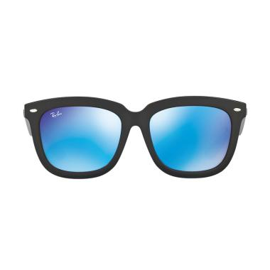 Ray-Ban Rb4262D 601 55 Black Lens Sunglasses - Blue Flash [Size 57]