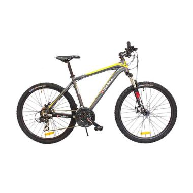THRILL CLeave AE MT 21 SPD 2.0 Sepeda - Grey Yellow [26 x 16 Inch]