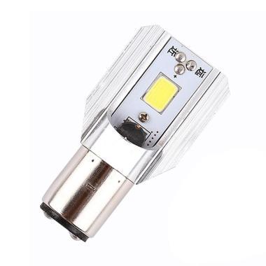 JMS H6 COB LED 6-80V 800LM 6000K Headlight Lampu LED for Motorcycle