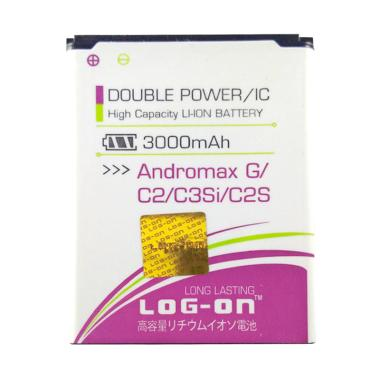 Log On Double Power Battery for Andromax C2 [3000 mAh]