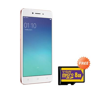 OPPO A37 Smartphone - Rose Gold [16GB/ 2GB]