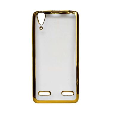 OEM Ultrathin Iphoria Shining Casing for Lenovo A7000 - Gold
