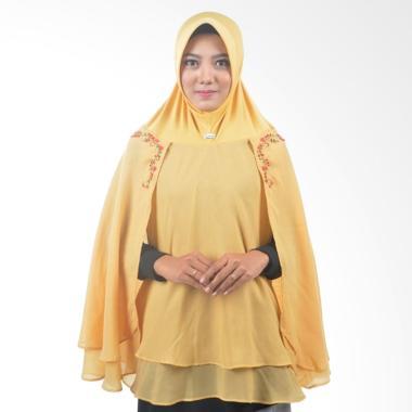 Atteena Hijab Alifa Rafiqah XL Jilbab Instant - Emas