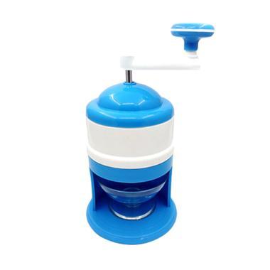 Best Ice Shaver Crusher Manual Alat ... Es KEPAL MILO - Soft Blue