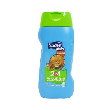 Suave Kids 2in1 Smoothers Coconut Shampoo Anak [355 mL]