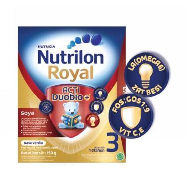 Nutrilon Royal Soya 3 Vanila Susu Formula [350 g]