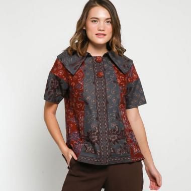 Andelly Batik 02 22 Blouse Atasan Wanita