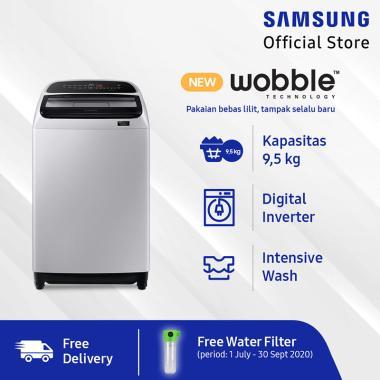 harga Samsung WA95T5260BY/SE Top Loading Mesin Cuci [9.5 Kg] JABODETABEK Blibli.com