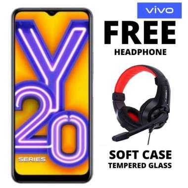 harga Vivo Y20 3-64 GB Free Headphone Hitam Blibli.com