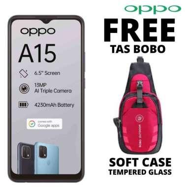 harga Oppo A15 3-32 GB Free Tas Bobo PUTIH Blibli.com