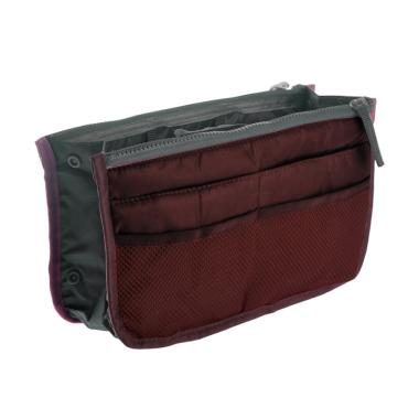 D'Cheryl Bag In Bag Nylon Import Organizer - Maroon