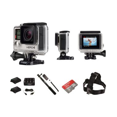 Kamera GoPro HERO4 Silver Action Camera [Paket Diving]