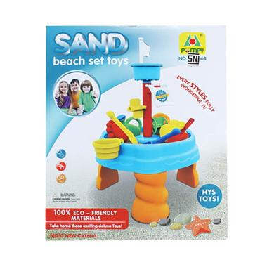TME Sand Beach Set Toys Mainan Pasir Kinetik