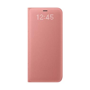 Samsung LED View Cover Casing for Galaxy S8 - Pink