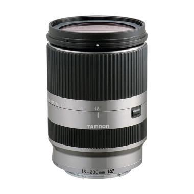 Tamron 18-200mm Di III VC F-3.5-6.3 For EOS M Lensa Kamera - Silver