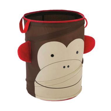 Animal Kingdom Laundry Bag Anak Monkey - Brown