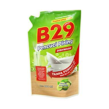 B29 Liquid Dishwashing Pouch Lime C ... i Piring [2 PCS X 800 mL]