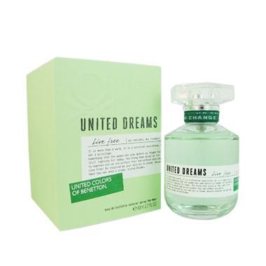 Benetton United Dream Live Free Parfum EDT Wanita [80 ML]