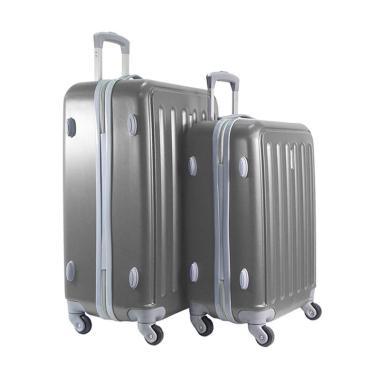 Polo Twin HD 1610 Troley Bag Set - Dark Grey [20 dan 24 inch]