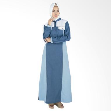 Raindoz RGS 047 Balqis Baju Muslim Wanita - Blue Sky