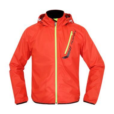 Respiro Fushion Pack R1 Jaket Motor Pria - Orange