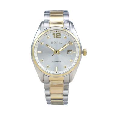 Bonia BN10186-1115 Jam Tangan Pria - Silver Gold