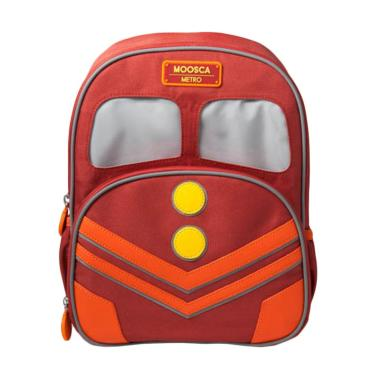 Moosca Kids Train Backpack Tas Ransel Anak - Bossanova