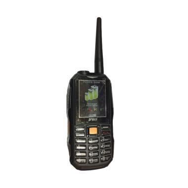 Prince PC-10 Powerbank Walkie-Talkie Handphone - Black [12.000 mAh]