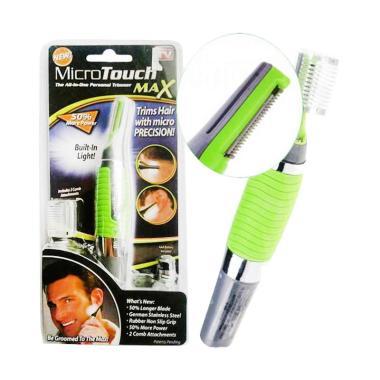Caddieu Micro Touch Max Trimmer Alat Cukur Kumis ... 679571a3c3