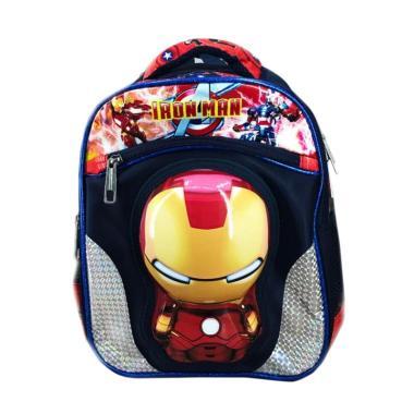 Bravery Avenger Iron Man 3D Tas Ransel Sekolah Anak