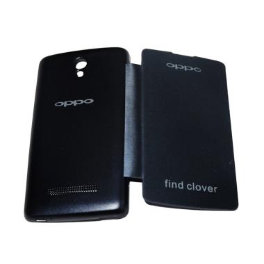 OPPO Flip Cover Casing for Oppo Find Clover R815 - Navy