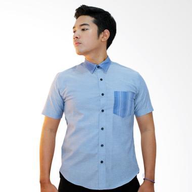 Ornith 9111.S Aurellio Short Sleeve Shirt - Baby Blue