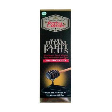 Ratu Lebah Madu Hitam Pahit Plus Propolis [470 g]