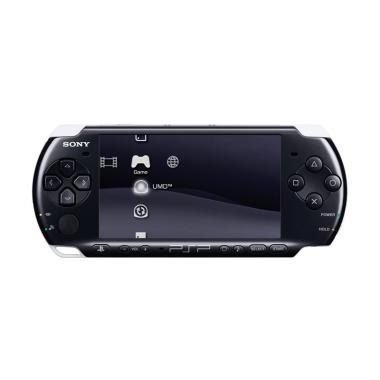 SONY PSP WiFi Slim 3000 With 8 GB Memory Card Game Console - Hitam