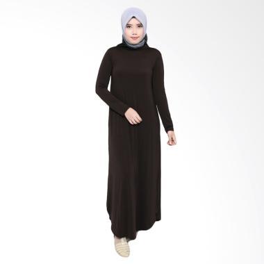 Zoya Fashion Inner Karima Dress Muslim - Dark Brown