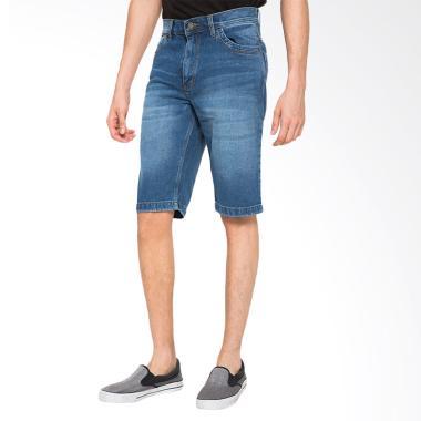 2Nd RED Short Pants Denim Celana Pendek Pria 151620 - Light Blue