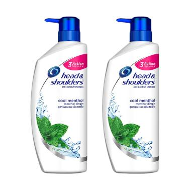BELI..!!! Head & Shoulders Cool Menthol Shampoo [480 mL/2 pcs] Terbaik