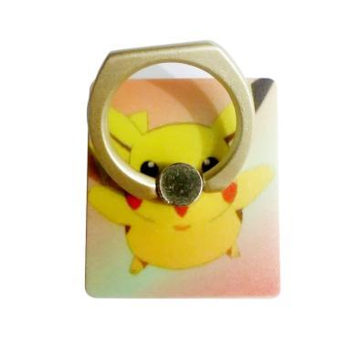 Ring Pokemon Versi 1 Standing iRing Phone Holder - Gold