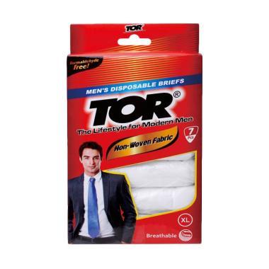 TOR Mens Disposable Briefs Celana Dalam Pria Sekali Pakai