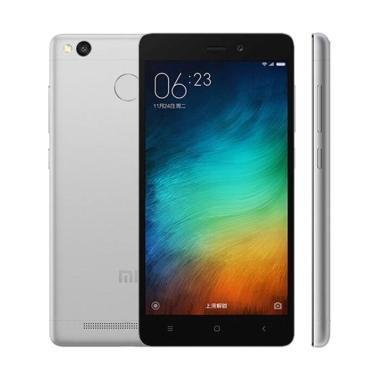 Xiaomi Redmi 3s Smartphone - Grey [32GB/ 3GB/ Garansi Resmi]