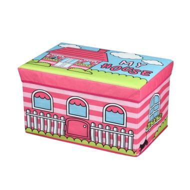 Box Bangku Kotak lipat Box Penyimpanan Tempat Mainan MC03 - 3 . Source · Atria My