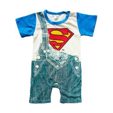 Disney Superman Jumper Baju Jumpsuit Bayi - Blue