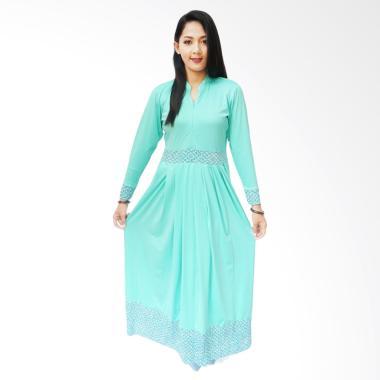 Fafa Collection Long Dress Muslim Batik Marsha 012 - Tosca