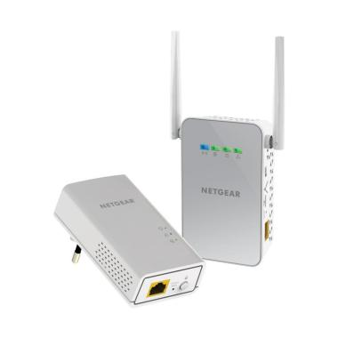 Netgear Powerline 1000 AV2 + WiFi Access Point and Adapter